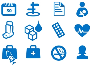 Langely House Surgery Clinic icons